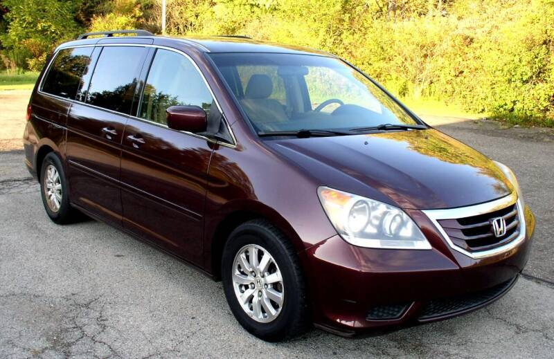 2009 Honda Odyssey for sale at Angelo's Auto Sales in Lowellville OH