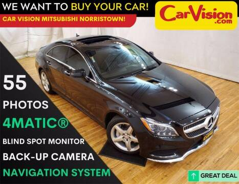 2016 Mercedes-Benz CLS for sale at Car Vision Mitsubishi Norristown in Trooper PA