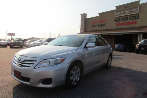 2011 Toyota Camry for sale at Import Motors in Bethany OK