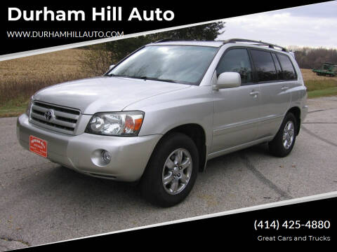 2007 Toyota Highlander for sale at Durham Hill Auto in Muskego WI