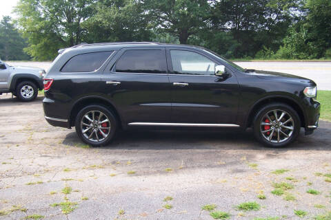 2015 Dodge Durango for sale at Blackwood's Auto Sales in Union SC
