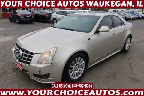 2013 Cadillac CTS for sale at Your Choice Autos - Waukegan in Waukegan IL