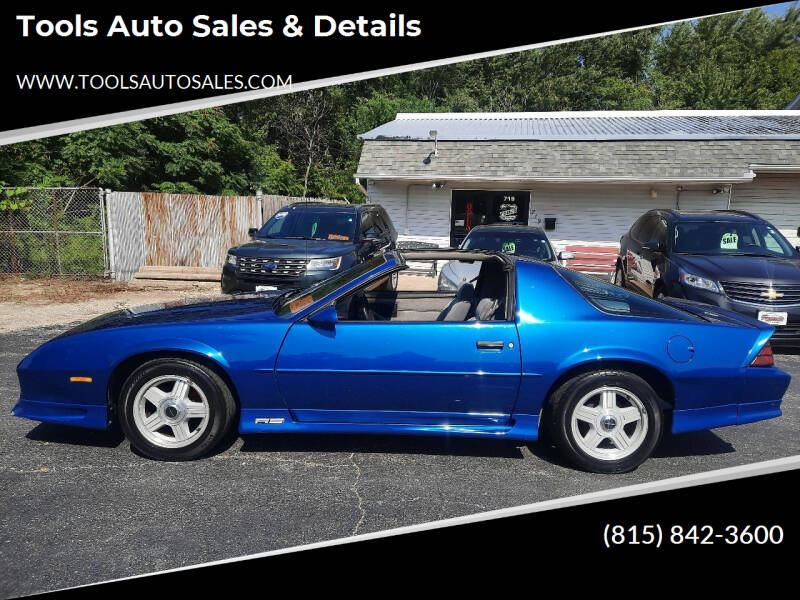 1991 Chevrolet Camaro for sale at Tools Auto Sales & Details in Pontiac IL