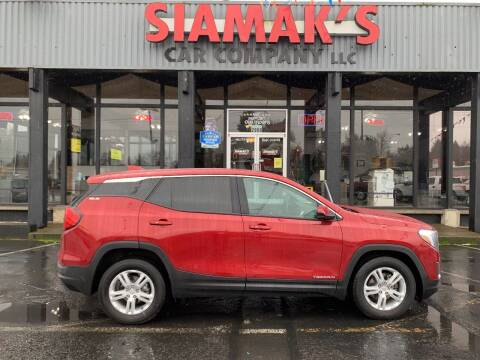 2018 GMC Terrain for sale at Siamak's Car Company llc in Salem OR