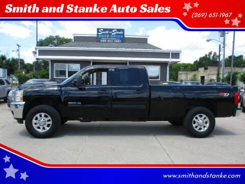 2012 Chevrolet Silverado 3500HD for sale at Smith and Stanke Auto Sales in Sturgis MI