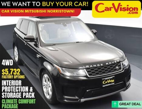 2018 Land Rover Range Rover Sport for sale at Car Vision Mitsubishi Norristown in Norristown PA
