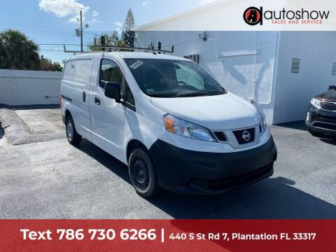 2018 Nissan NV200 for sale at AUTOSHOW SALES & SERVICE in Plantation FL