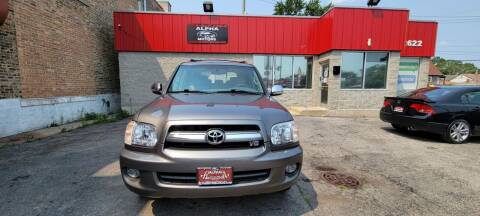 2007 Toyota Sequoia for sale at Alpha Motors in Chicago IL