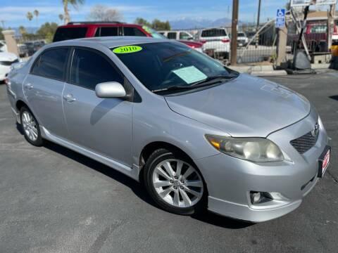 2010 Toyota Corolla for sale at Esquivel Auto Depot in Rialto CA