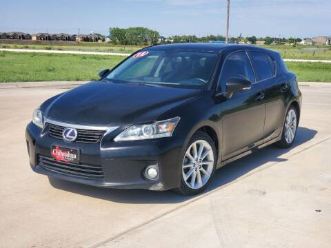 2012 Lexus CT 200h for sale at Chihuahua Auto Sales in Perryton TX