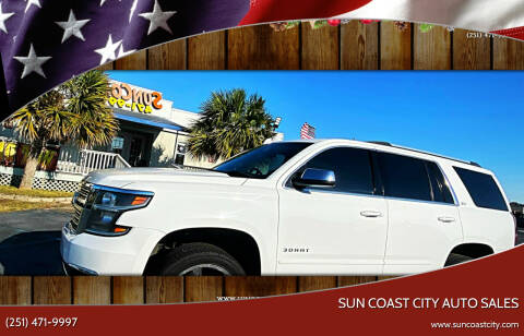 2016 Chevrolet Tahoe for sale at Sun Coast City Auto Sales in Mobile AL