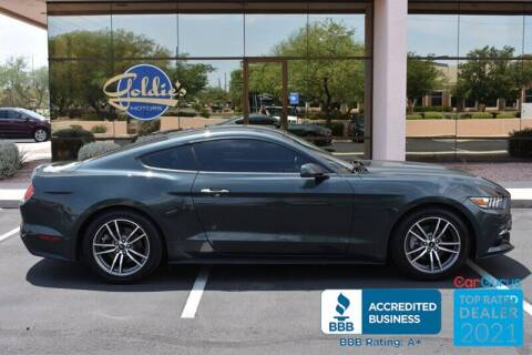 2016 Ford Mustang for sale at GOLDIES MOTORS in Phoenix AZ