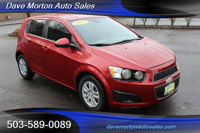 2013 Chevrolet Sonic for sale at Dave Morton Auto Sales in Salem OR