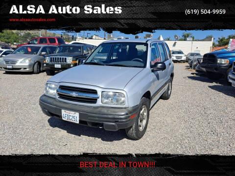 1999 Chevrolet Tracker for sale at ALSA Auto Sales in El Cajon CA