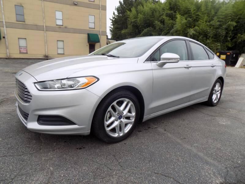 2015 Ford Fusion for sale at S.S. Motors LLC in Dallas GA