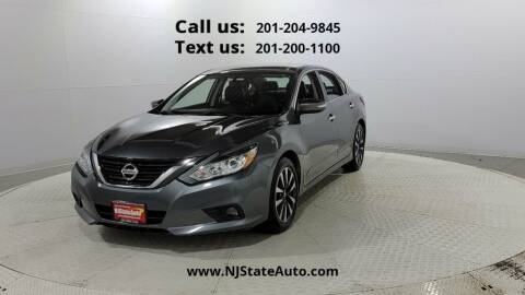 2016 Nissan Altima for sale at NJ State Auto Used Cars in Jersey City NJ