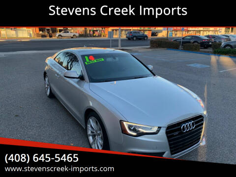 2014 Audi A5 for sale at Stevens Creek Imports in San Jose CA