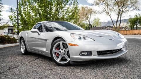 2005 Chevrolet Corvette for sale at MUSCLE MOTORS AUTO SALES INC in Reno NV