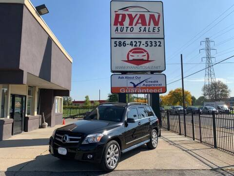 2010 Mercedes-Benz GLK for sale at Ryan Auto Sales in Warren MI