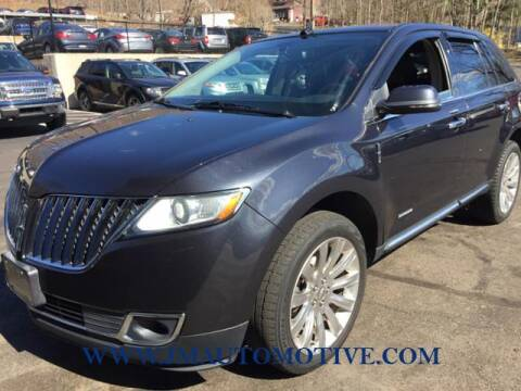 2013 Lincoln MKX for sale at J & M Automotive in Naugatuck CT