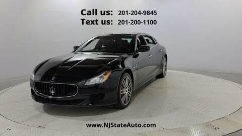2016 Maserati Quattroporte for sale at NJ State Auto Used Cars in Jersey City NJ