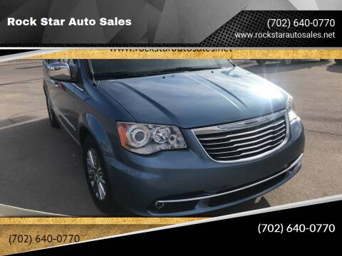2011 Chrysler Town and Country for sale at Rock Star Auto Sales in Las Vegas NV