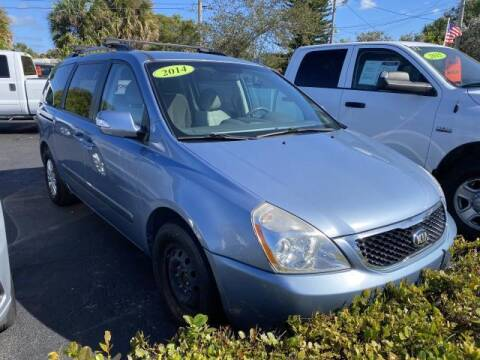2014 Kia Sedona for sale at Mike Auto Sales in West Palm Beach FL