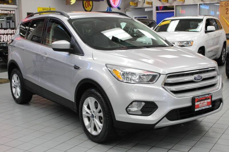 2018 Ford Escape for sale at Windy City Motors in Chicago IL