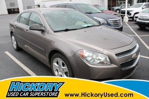 2012 Chevrolet Malibu for sale at Hickory Used Car Superstore in Hickory NC