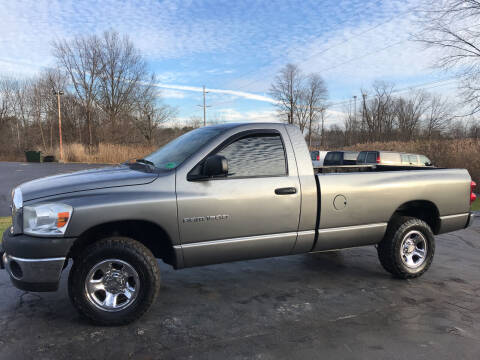2007 Dodge Ram Pickup 1500 for sale at ACE HARDWARE OF ELLSWORTH dba ACE EQUIPMENT in Canfield OH