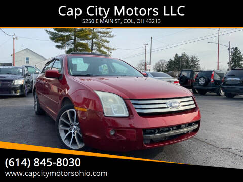 2009 Ford Fusion for sale at Cap City Motors LLC in Columbus OH