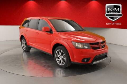2018 Dodge Journey for sale at K&M Wayland Chrysler  Dodge Jeep Ram in Wayland MI