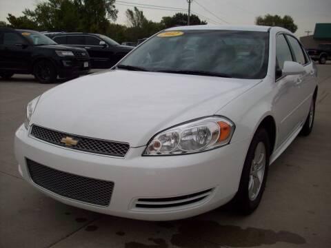 2012 Chevrolet Impala for sale at Nemaha Valley Motors in Seneca KS