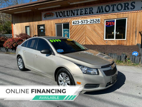 2014 Chevrolet Cruze for sale at Kerwin's Volunteer Motors in Bristol TN