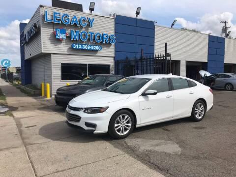 2016 Chevrolet Malibu for sale at Legacy Motors in Detroit MI