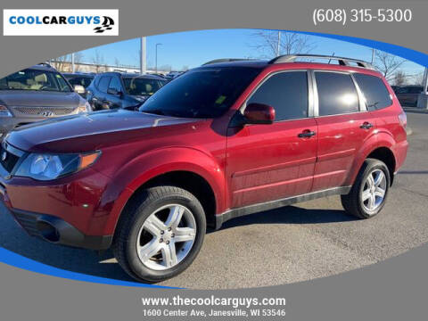 2010 Subaru Forester for sale at Cool Car Guys in Janesville WI
