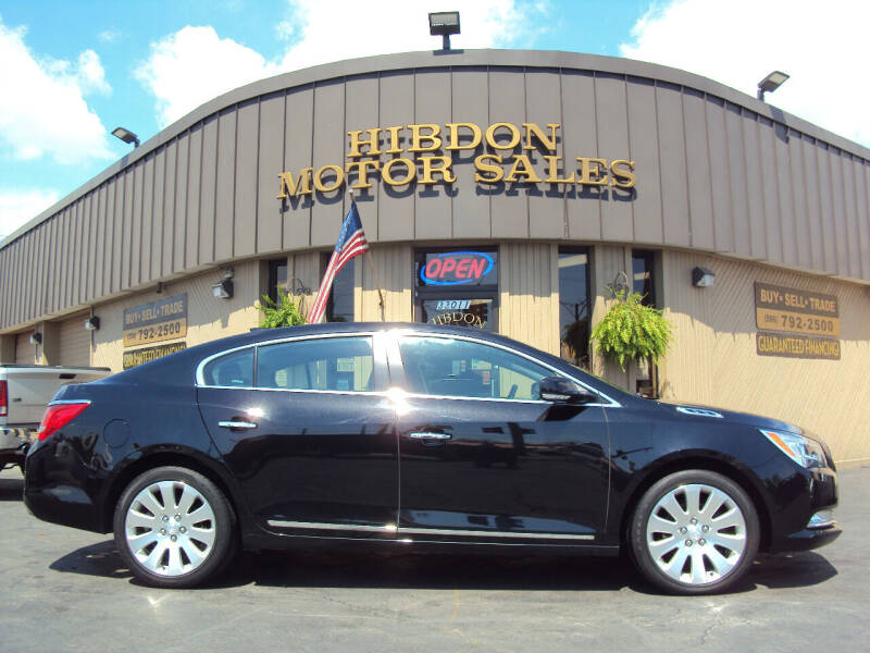2016 Buick LaCrosse for sale at Hibdon Motor Sales in Clinton Township MI
