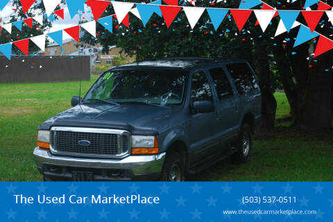 2001 Ford Excursion for sale at The Used Car MarketPlace in Newberg OR
