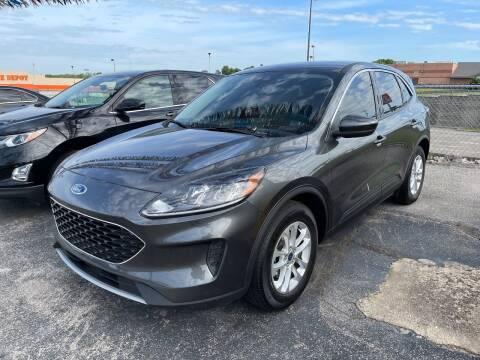 2020 Ford Escape for sale at Greg's Auto Sales in Poplar Bluff MO