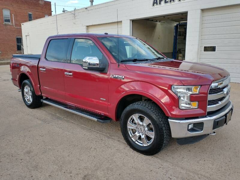 2016 Ford F-150 for sale at Apex Auto Sales in Coldwater KS