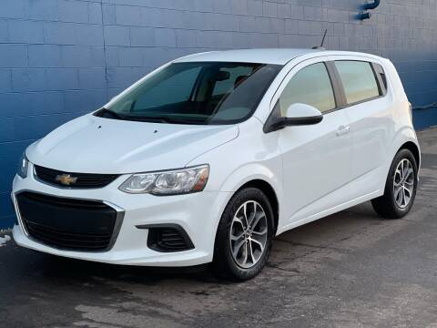 2018 Chevrolet Sonic for sale at Omega Motors in Waterford MI