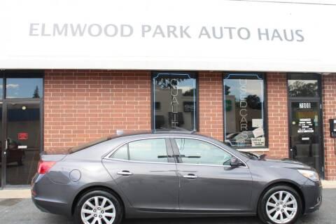 2013 Chevrolet Malibu for sale at Elmwood Park Auto Haus in Elmwood Park IL