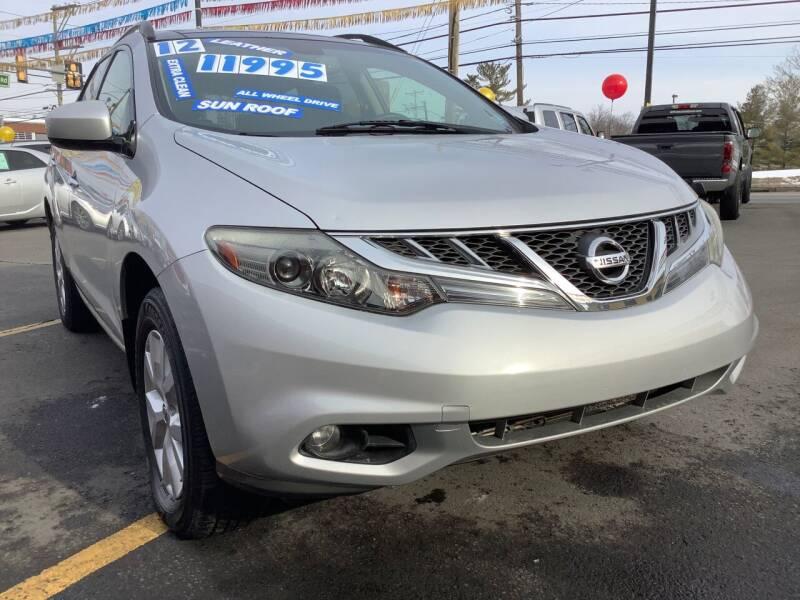 2012 Nissan Murano for sale at Active Auto Sales in Hatboro PA