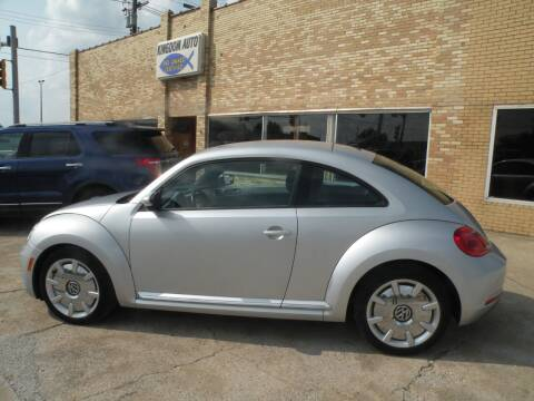 2012 Volkswagen Beetle for sale at Kingdom Auto Centers in Litchfield IL