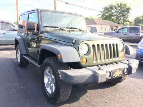 2007 Jeep Wrangler for sale at Auto Exchange in The Plains OH