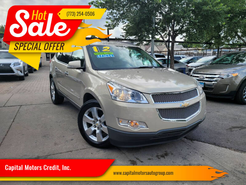 2012 Chevrolet Traverse for sale at Capital Motors Credit, Inc. in Chicago IL
