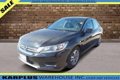 2014 Honda Accord for sale at Karplus Warehouse in Pacoima CA