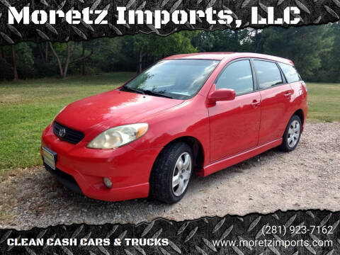 2005 Toyota Matrix for sale at Moretz Imports, LLC in Spring TX