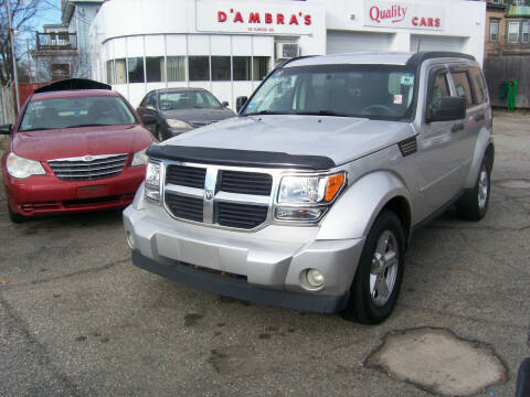 2008 Dodge Nitro for sale at Dambra Auto Sales in Providence RI