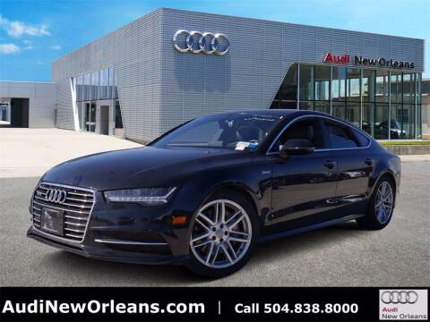 2017 Audi A7 for sale at Metairie Preowned Superstore in Metairie LA